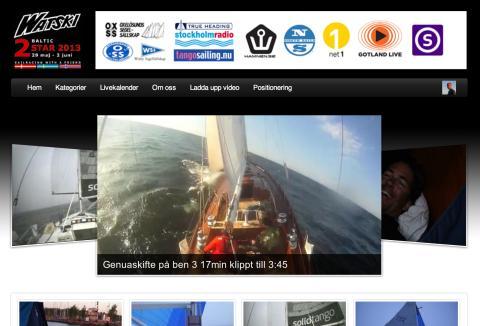 Havskappseglingen Watski2star blev en stor tittarsuccé
