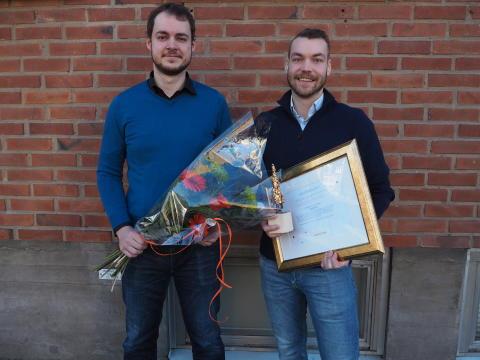 Trustcruit utnämnda till årets Inkubatorsföretag – belönas med 50 000 kr
