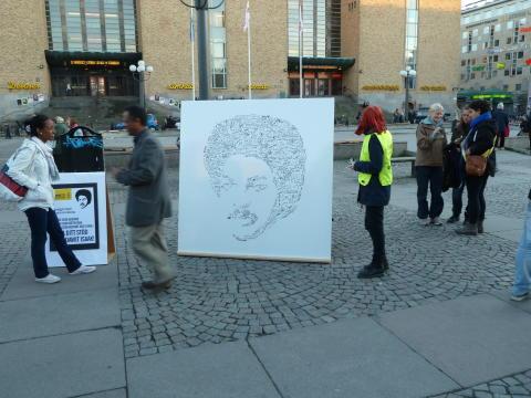 Eritrea: Elva år i fängelse - kräv att Dawit Isaak släpps!