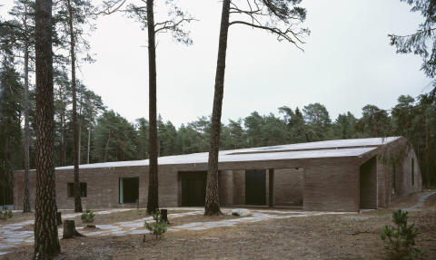 Johan Celsing Architects, The New Crematorium Woodland Cemetary, 2013.