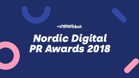 Her er de nominerte til Nordic Digital PR Awards 2018