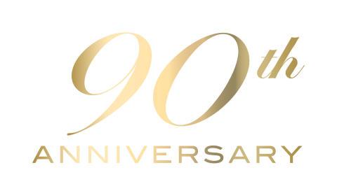 90 års jubileum logo