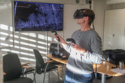 3D-labb för skogsutbildning får tre miljoner kronor