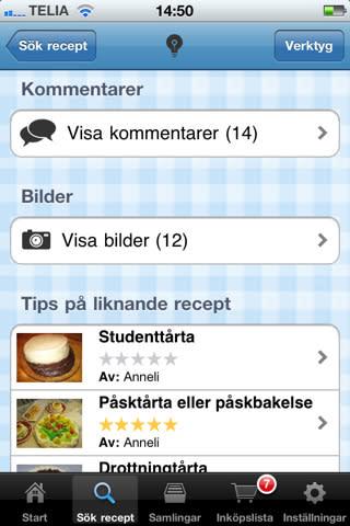 Kokaihop.se i mobilen#2