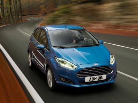 Ford Fiesta on myydyin pienikokoinen auto Euroopassa; Fiestan 1.0-litraiseen EcoBoost –malliin saa nyt PowerShift-automaattivaihteiston