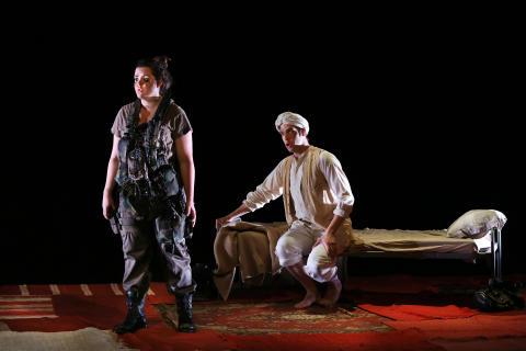 STHLM New Opera 2014: Alla människor är bomber. Foto: Stefan Nilsson.