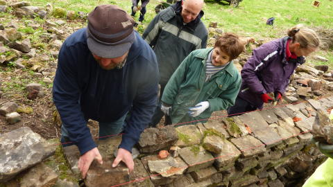 Sign up for free dry stone walling courses