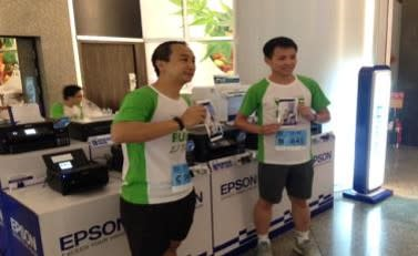 Epson in Empire Tower We Run 2017