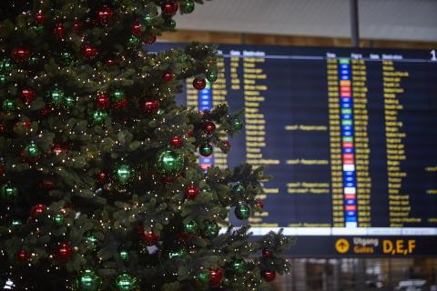 Julen på Norges hovedflyplass