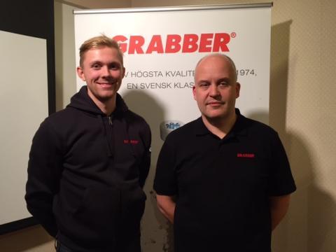 Nya medarbetare på säljsidan GRABBER - Arne Thuresson Byggmaterial AB Stockholm