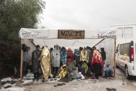 Lesbos: Läkare Utan Gränser avslutar insatser i Morialägret för att inte utnyttjas av EU