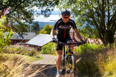 Cykling i Orsa Grönklitt