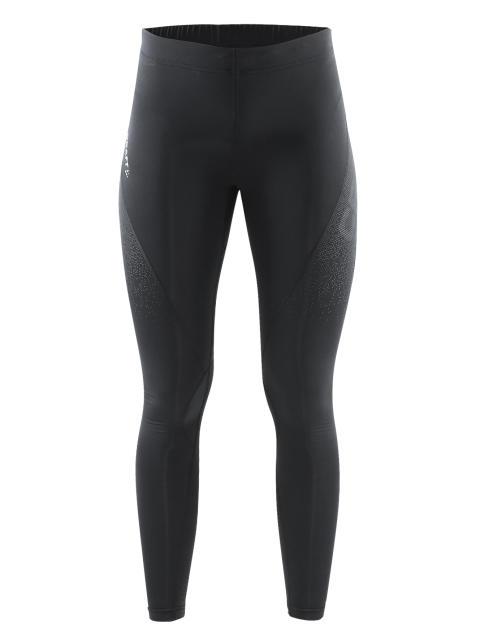 Delta Compression long tights för dam i färgen black