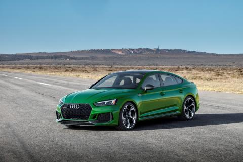 Audi RS 5 Sportback (Sonomagrøn metallak)
