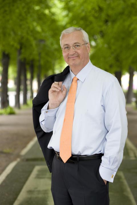 Sten Nordin (M): Hedrad över priset som Årets studentvän 2012
