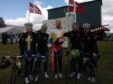 Damjuniorerna kör fortsatt starkt i Danmark