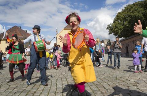 Verdens Kuleste Dag på Akershus Festning