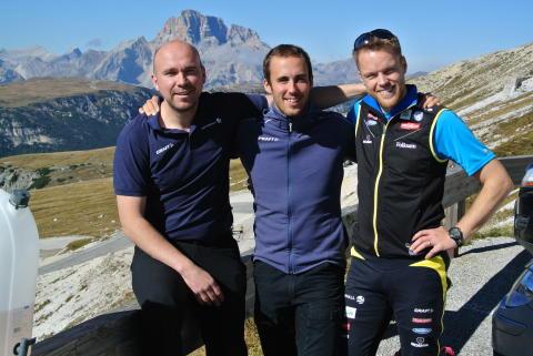 Ledare för Team 2015. Från vänster: Lars Sellin, Lars Ljung och Anders Byström.