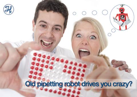 Trade in your old Robot for liquid-handling, up to 30% discount