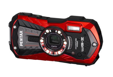 Pentax Optio WG-2 Röd