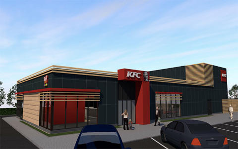 KFC öppnar i Lund