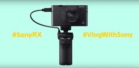 A Sony introduz a nova pega para captação VCT-SGR1 para câmaras das séries RX0 e RX100