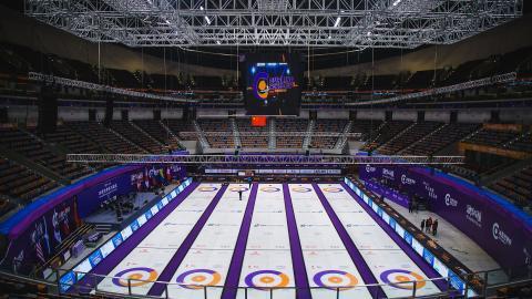 Curling world cup i Suzhou, Kina