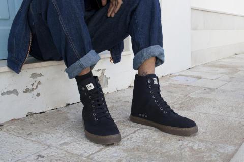 "Fair Sneaker ""BROCK"" Jet Black"