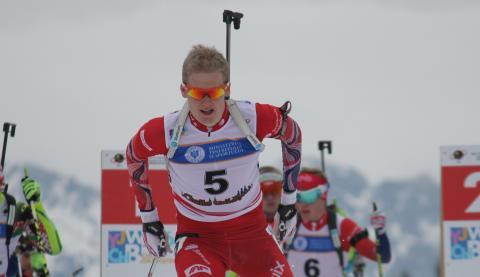Isak Flo Bødal,jaktstart menn junior,junior-vm 2016