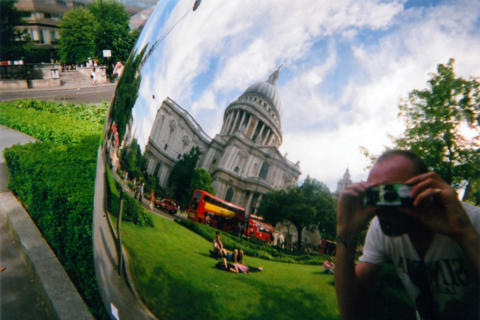 London homeless photo contest at St Paul's Cathedral