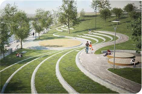 Broparken invigs lördag 29 juni