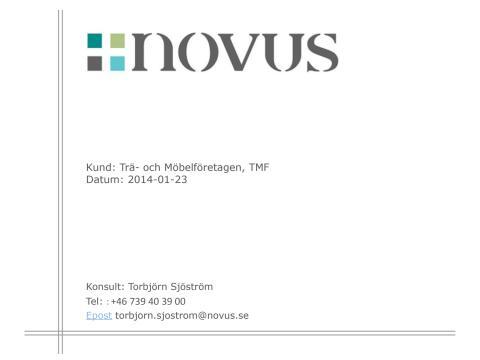 201401 Novus Möbelundersökning TMF