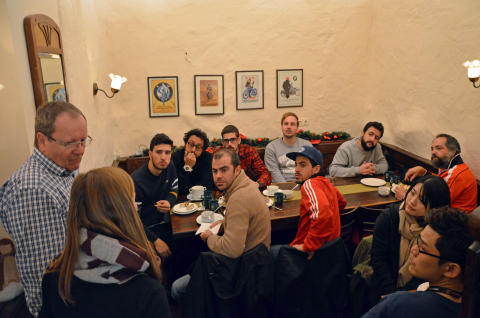 Gesprächsrunde im Barthels Hof