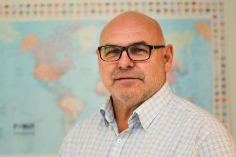 Morten Lønstad, generalsekretær i FORUT