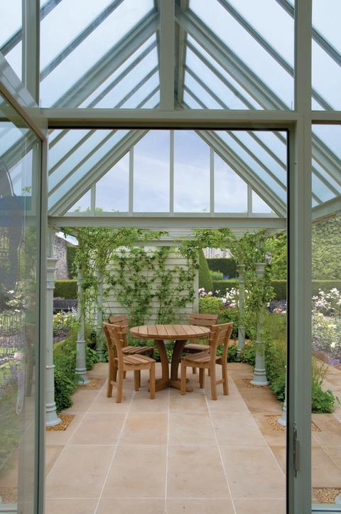 Från växthus till terrass