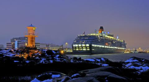 Britter julkryssar till Göteborg