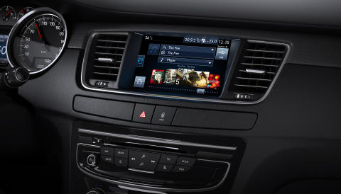 Peugeot 508 Touch Screen