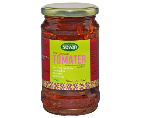 Soltorkade tomater, Hela