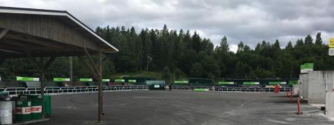 Ändrade öppettider på återvinningen i Hamrånge, Hedesunda och Kungsgården