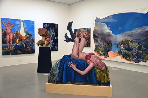 """Neue Ausstellung """"VOIX"""" des MalerinnenNetzWerks Berlin-Leipzig im Museum der bildenden Künste Leipzig"""