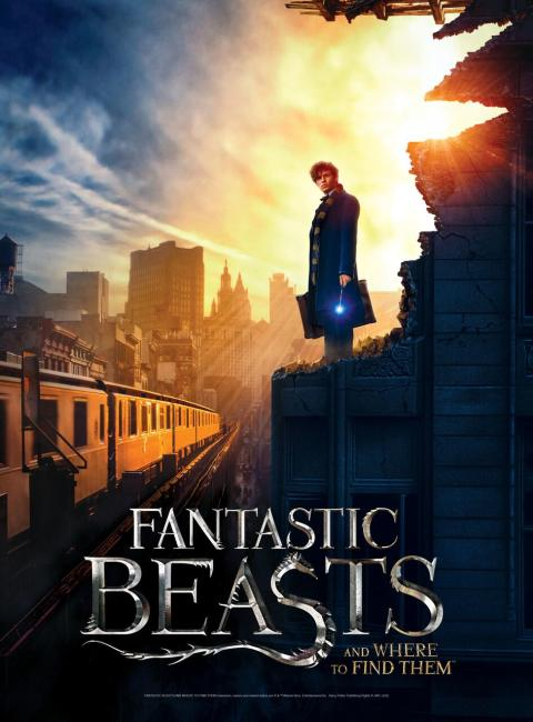 Coildspring Games - Fantastic Beasts 2D poster puzzles