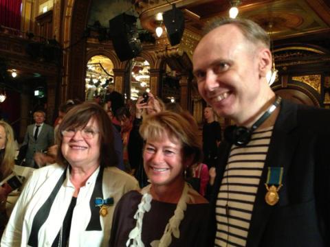 Modelektor vid Beckmans Designhögskola får medalj
