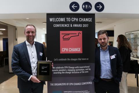 Coor vinder CPH Change Award 2017