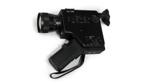 Ljudfilmskamera super 8. Dieter Rams.