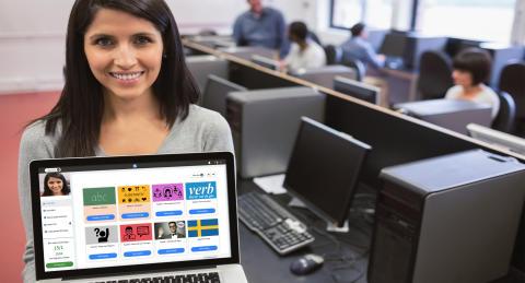 Digitalt verktyg hjälper nyanlända lära sig svenska snabbare