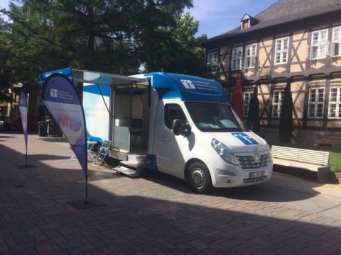 Beratungsmobil der Unabhängigen Patientenberatung kommt am 22. Oktober nach Goslar.