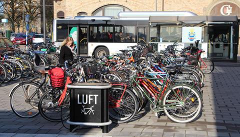 Halmstad är andra bästa cykelstad i landet