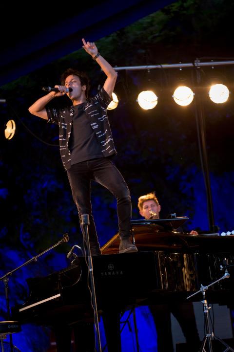 Jamie Cullum 130817 Oslo Jazzfestival