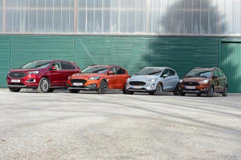 Ford Edge & Active-Produktfamilie