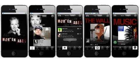 EMI Norden lanserer fan-apper med Spotify